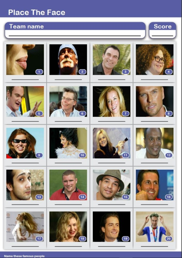 FREE* Picture Quiz