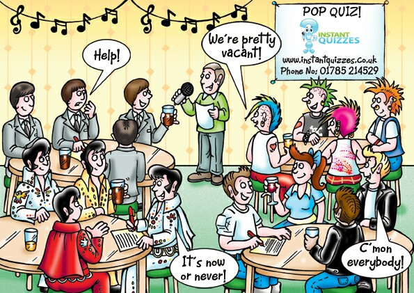 Free Pop Quiz Packs Pub Quiz Questions