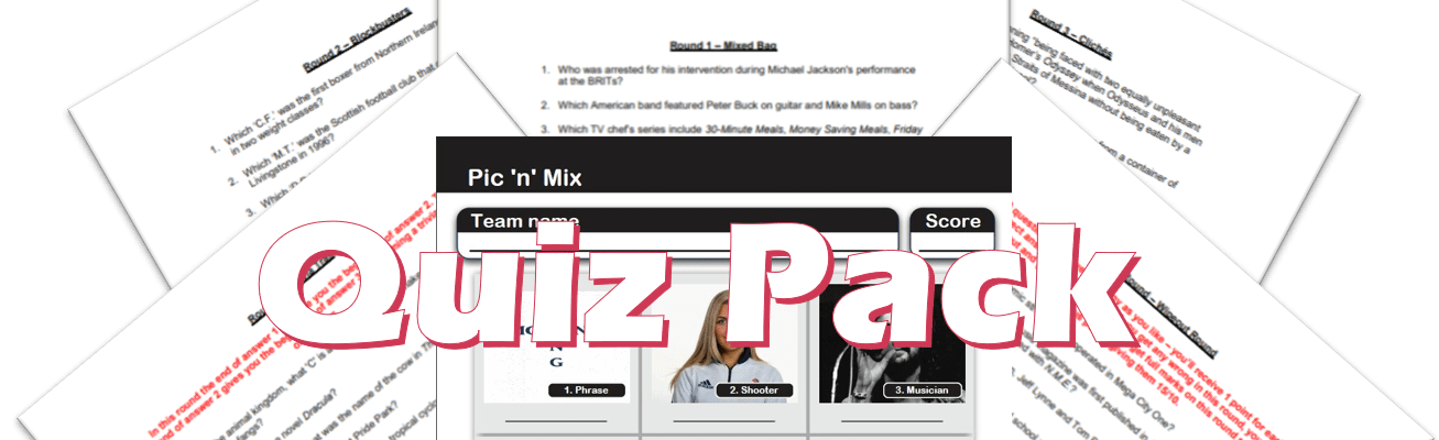 quiz pack example