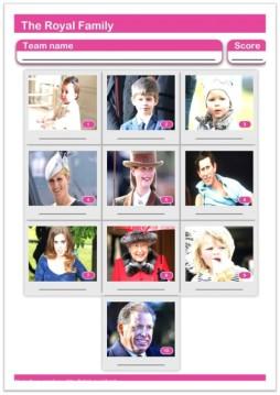 royal family paper